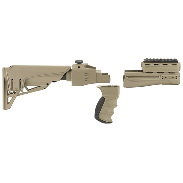 USA Made - ATI Strikeforce AK47 MAK90 FDE Folding Stock & Forend
